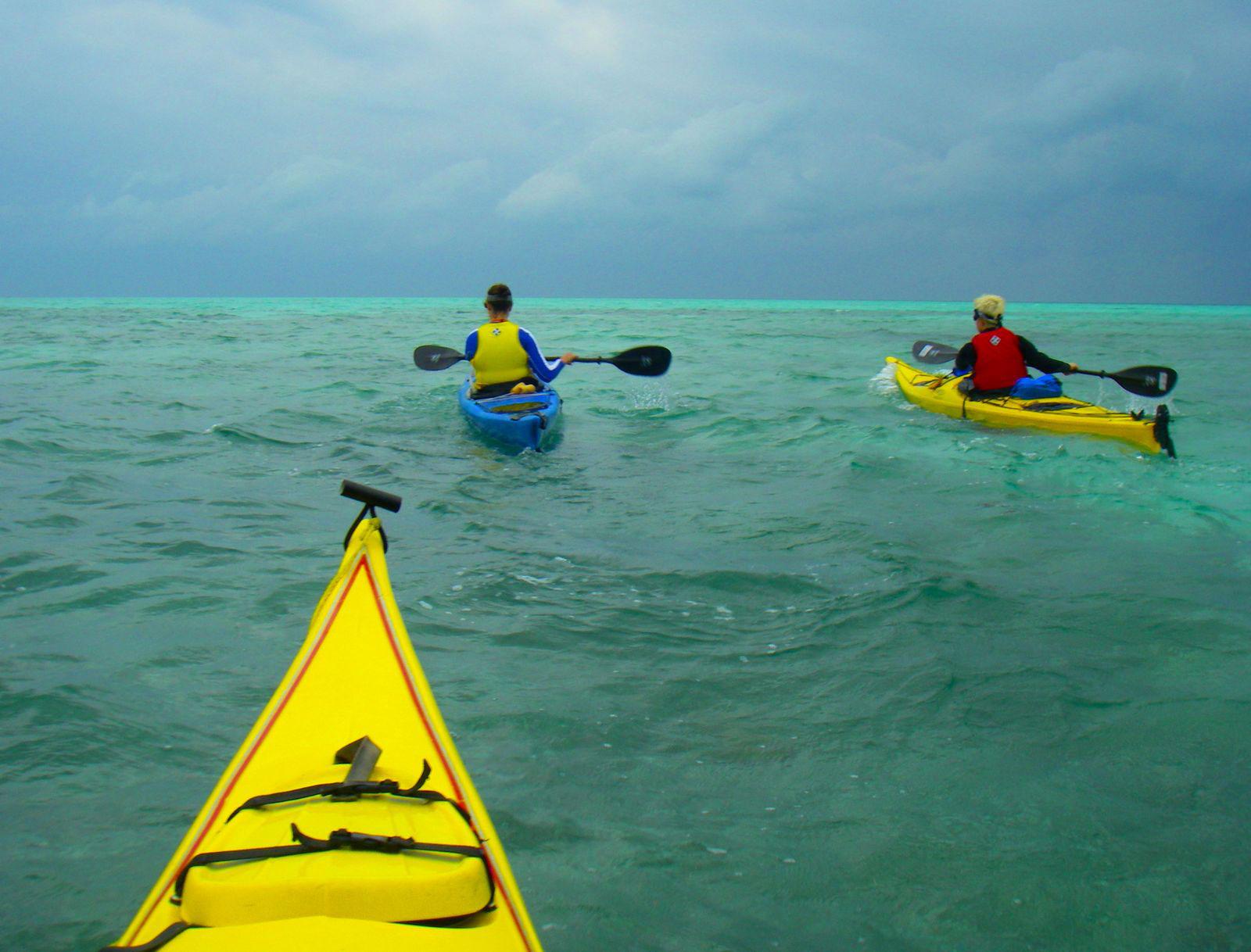 kayak and snorkel tour