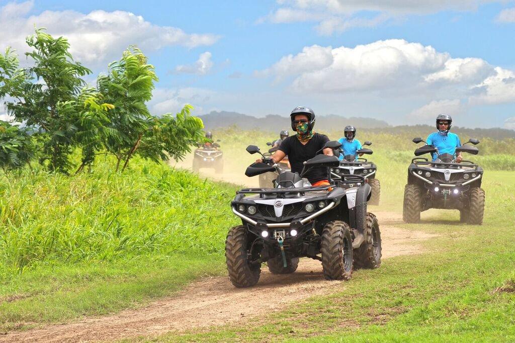 ATV tour at hacienda campo rico